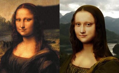 Así luciría la Mona Lisa de carne y hueso