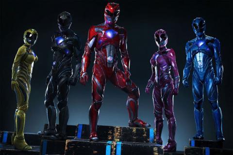 Mira el nuevo tráiler de los Power Rangers con los Megazords