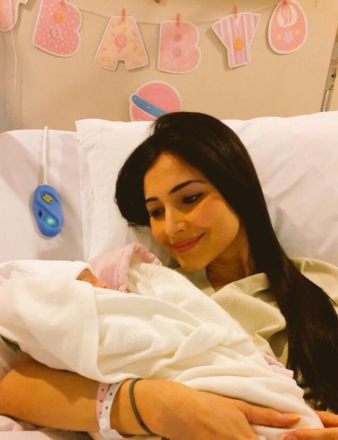 Nace la hija de la presentadora de noticias, Massiel Carrillo