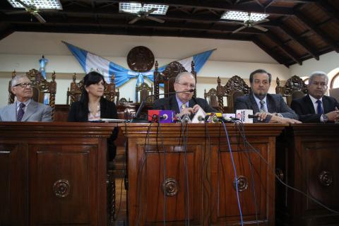 Así se sustituirá a Maldonado en la Corte de Constitucionalidad
