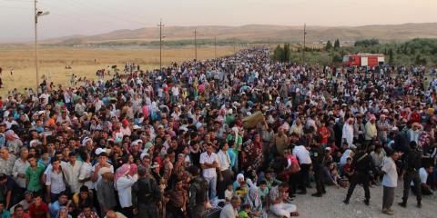 Canadá recibirá 25,000 refugiados sirios en los próximos tres meses