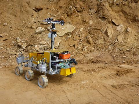 Robot ensayará en el desierto chileno antes de ser enviado a Marte