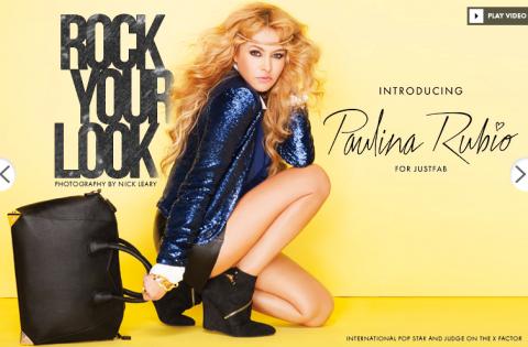 Paulina Rubio crea su propia marca de bolsas y zapatos