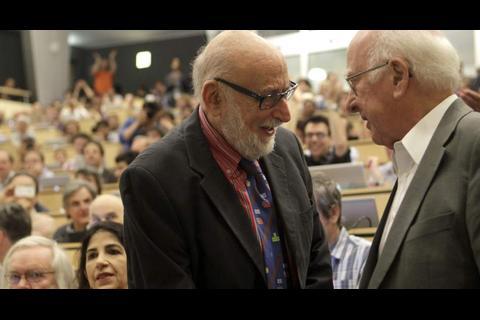 """Investigadores de la """"Partícula de Dios"""" se llevan el Nobel de Física"""