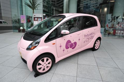 """Mitsubishi Mirage lanza una edición especial """"Hello Kitty"""" para Japón"""
