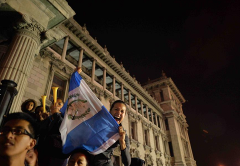 Baldetti critica protestas en su contra y celebración de su renuncia