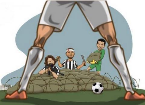 """La Juventus y los """"memes"""" despiden al campeón de la Champions"""
