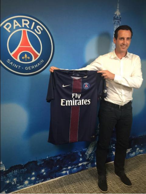 Unai Emery ya es el nuevo entrenador del Paris St. Germain
