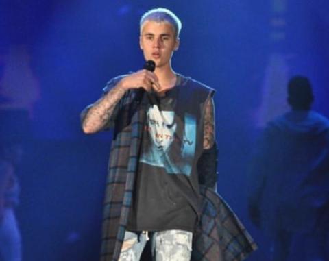 La polémica foto de Justin Bieber practicando deporte en ropa interior