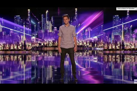 "Mago sorprende con un truco increíble en ""America's Got Talent"""