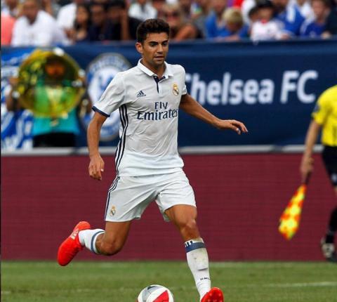 Hijo de Zinedine Zidane deslumbra en el Santiago Bernabéu
