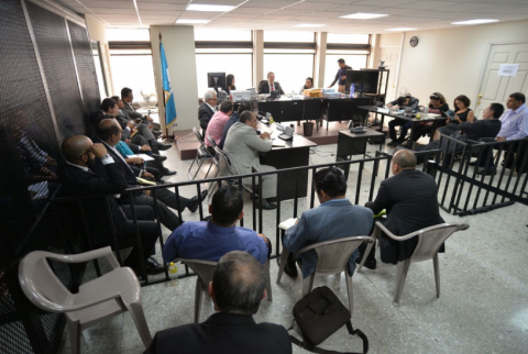Implicados en el caso Lago de Amatitlán salen de prisión