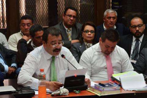 Los abogados que han rechazado a Otto Pérez y Roxana Baldetti
