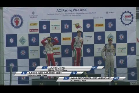 Guatemalteco Ian Rodríguez compartió podio con el hijo de Schumacher