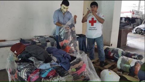 Cruz Roja lanza la campaña #DonemosUnSueter este fin de semana