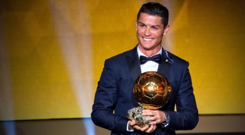 Cristiano Ronaldo gana su cuarto Balón de oro y queda a uno de Messi