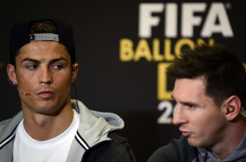 Cristiano ganó el Balón de Oro con más del doble de puntos que Messi