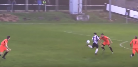 Control de taco, regate y golazo: esto no lo hace ni Andrés Iniesta