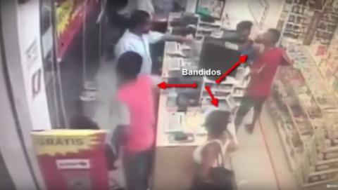 Un ladrón muere de un infarto cuando asaltaba una farmacia