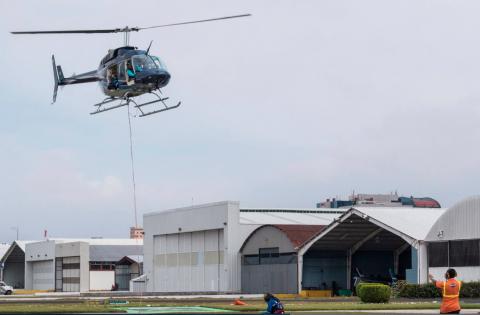 La historia detrás del sobrevuelo de 15 helicópteros en Guatemala