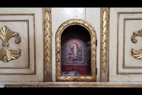 Roban reliquias en la Merced de Antigua Guatemala