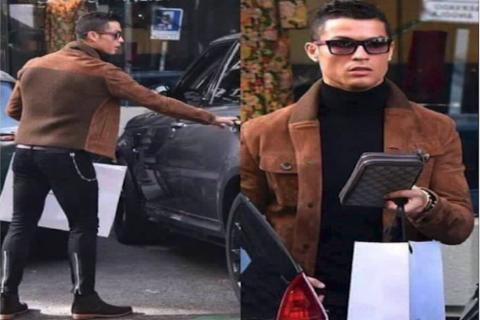 Cristiano Ronaldo sale de compras y su vestimenta se hace viral