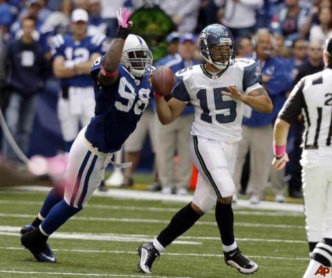 Mathis busca meterse en la historia de la NFL