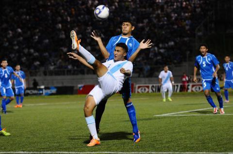 Selección sub 20 de Guatemala empata 2-2 frente a  El Salvador