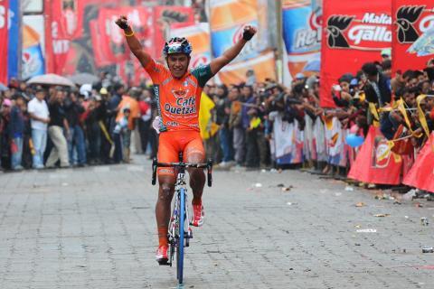 Guatemalteco De León ganó la séptima etapa