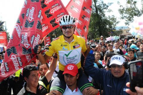 Alex Cano se corona campeón de la Vuelta Ciclística a Guatemala