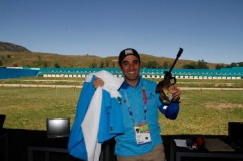 Tiro le da a Guatemala dos oros y un bronce en los Juegos Bolivarianos