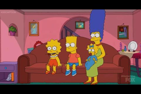 Así fue el capítulo en vivo con Los Simpson