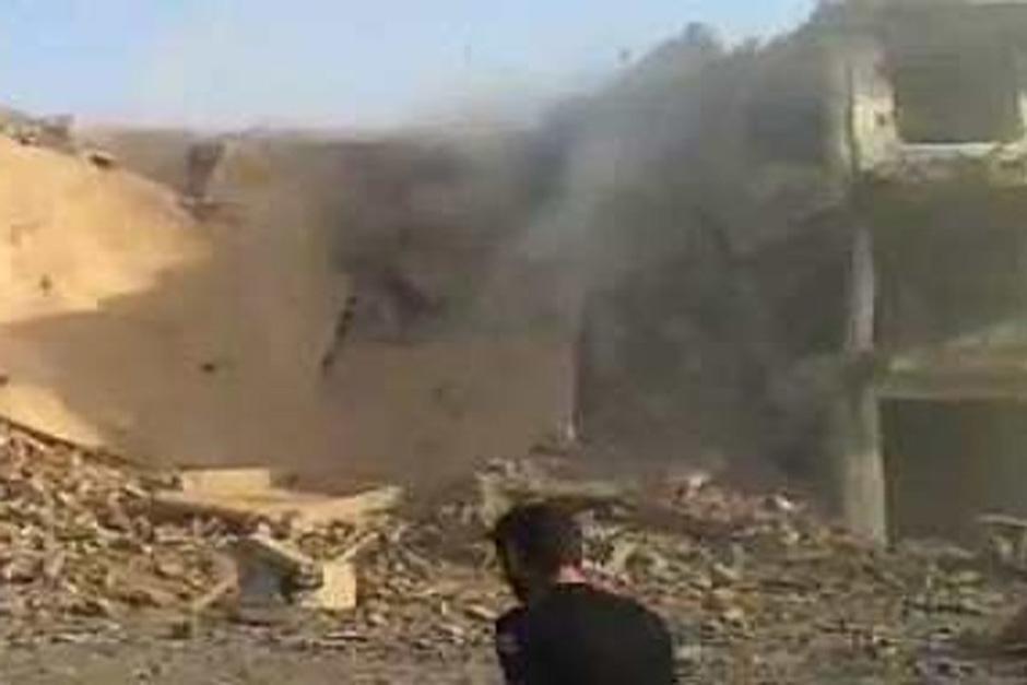 Mortero cae sobre Nunciatura Vaticana en Damasco, Siria