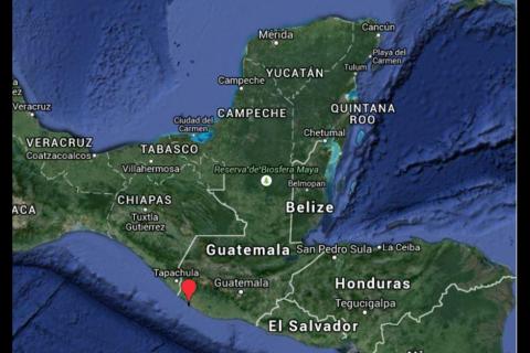 Sismo de 5.5 grados Richter causa alarma en guatemaltecos