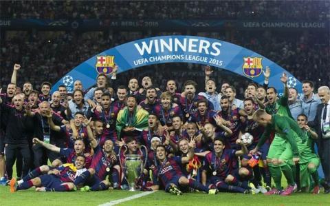 La UEFA prevé que el Barcelona será el próximo campeón de la Champions