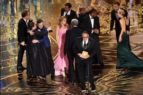 """La sorpresa, Spotlight le quita el Óscar a """"The Revenant"""""""