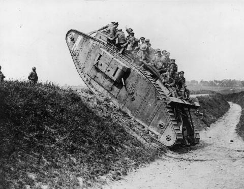 Se cumple un siglo del inicio de la Primera Guerra Mundial