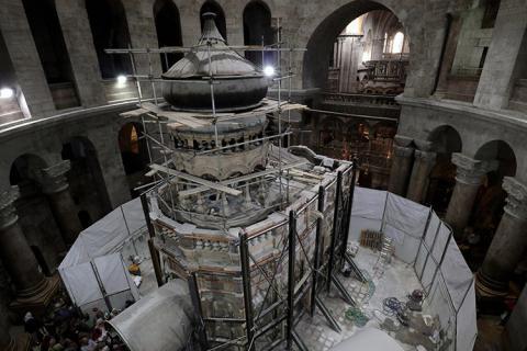 Revelan los primeros detalles luego de abrir la tumba de Jesucristo