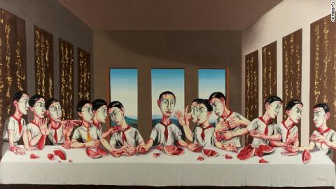 """""""La última cena"""" china se vende por más de Q234 millones"""