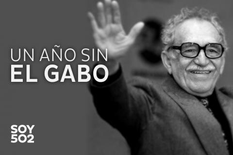 A un año de su muerte, el Gabo, sigue vivo
