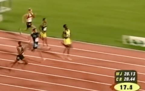 Usain Bolt, con 15 años, ya demostraba que no tenía rivales