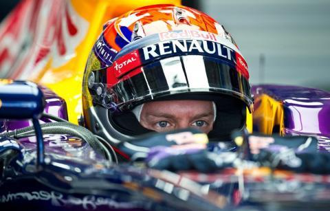 Vettel saldrá primero en el Gran Premio de Corea