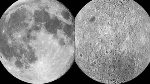 """Descubren el secreto del """"lado oscuro"""" de la Luna"""