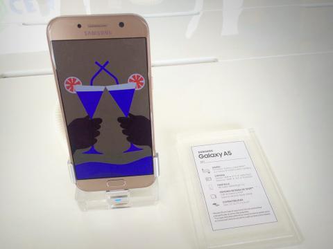 Galaxy A7 y A5, lo nuevo de Samsung