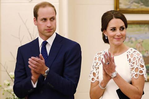 """El Príncipe William hace un """"gesto de verdadero príncipe"""""""