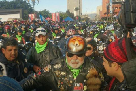 Arranca la peregrinación motorizada más grande del mundo