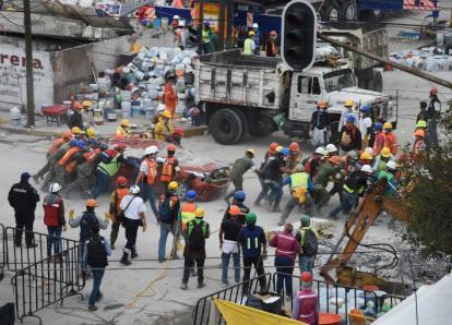 Guatemala ya no apoyará en las labores de rescate en México