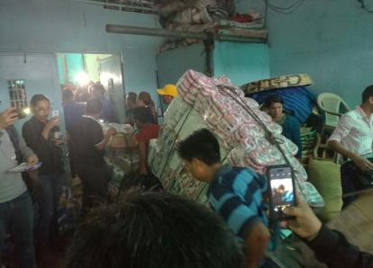 Inquilinos de La Terminal donan víveres a los afectados en México
