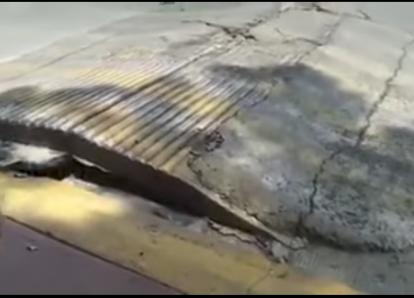 """Túmulo """"respiró"""" durante el terremoto que sacudió la Ciudad de México"""