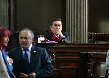 Roberto Villate se ausenta nuevamente de citación por antejuicio